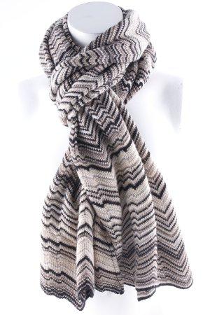 Missoni Bufanda de ganchillo multicolor look casual