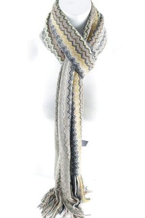 Missoni Écharpe en crochet motif en zigzag style mode des rues