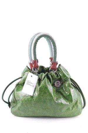 Missoni Handtasche grün Glanz-Optik