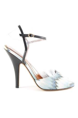 Missoni High Heel Sandaletten Farbverlauf Elegant
