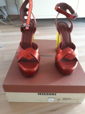 Missoni, High Heels, Neu mit Karton Gr. 39