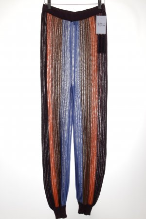 Missoni High-Waist Hose Streifenmuster Casual-Look