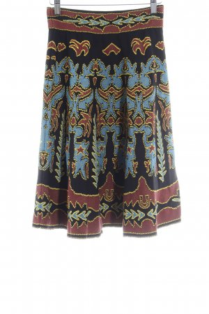 Missoni High Waist Rock Ikatmuster Country-Look