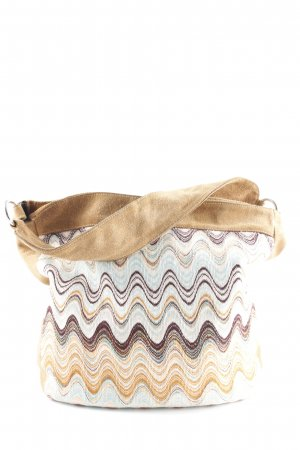 Missoni Hobo abstraktes Muster Casual-Look