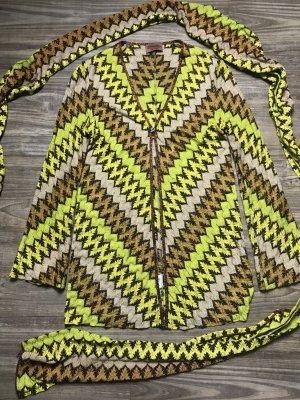 Missoni Jacke mit Schal  Gr 36