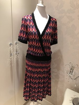 Missoni Robe en maille tricotées multicolore