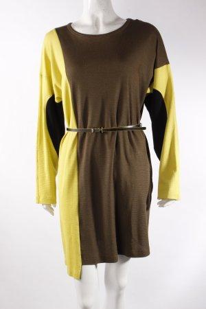 Missoni Kleid olivgrün gemustert