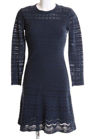 Missoni Langarmkleid blau Elegant