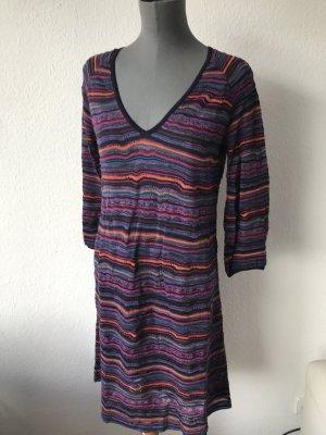 Missoni leichtes Shift Kleid unterfüttert gemustert Muster 40