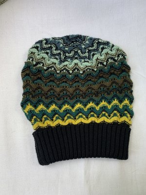Missoni Knitted Hat multicolored