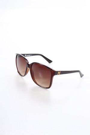 Missoni ovale Sonnenbrille dunkelbraun Casual-Look