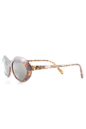 Missoni ovale Sonnenbrille dunkelbraun-hellbraun Farbverlauf Casual-Look