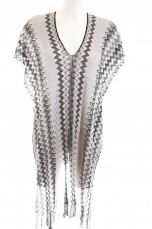 Missoni Poncho Allover-Druck Casual-Look