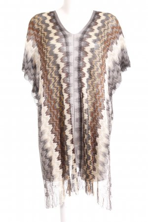 Missoni Poncho loosely knitted pattern Gypsy style