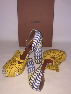 *** MISSONI *** Pumps / Peep Toe Pumps GR. 40