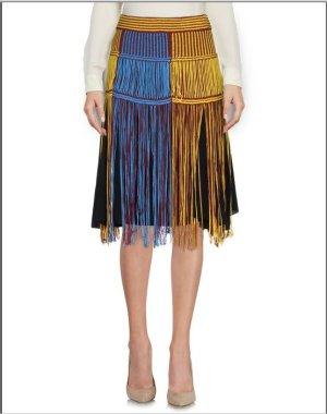 Missoni Jupe à franges multicolore