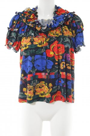 Missoni Ruche blouse abstract patroon casual uitstraling