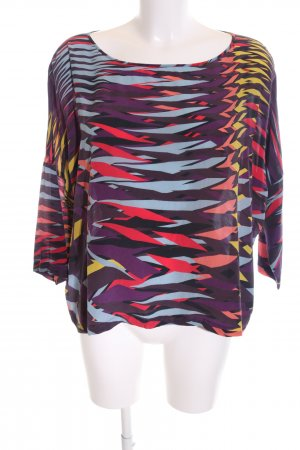 Missoni Schluppen-Bluse abstraktes Muster Business-Look
