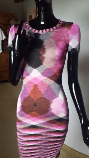 Missoni, schmales Kleid mit Unterkleid in Größe 34-32