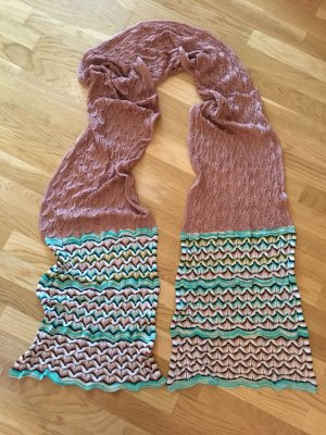 Missoni Knitted Scarf multicolored silk
