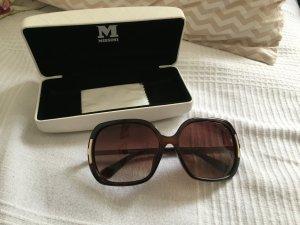 Missoni Sonnenbrille - dunkelbraun - gold
