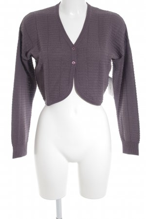 Missoni Strick Cardigan helllila Casual-Look