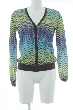 Missoni Strick Cardigan Zackenmuster Casual-Look
