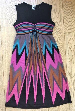 Missoni Robe en maille tricotées multicolore tissu mixte