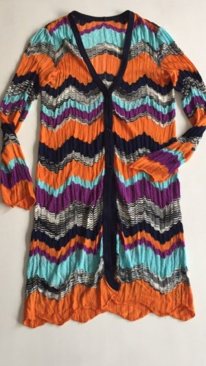 Missoni Strick Mantel Cardigan Jacke S 36