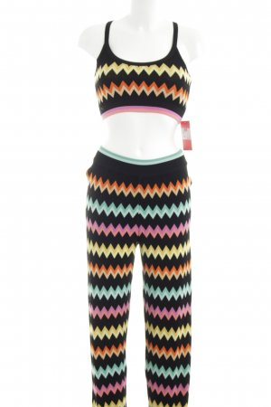 Missoni Strick Twin Set abstraktes Muster Business-Look