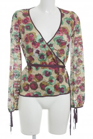 Missoni Strickjacke Blumenmuster Casual-Look