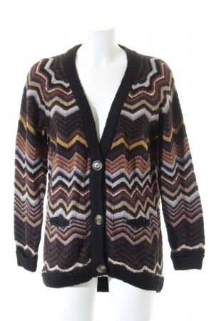 Missoni Strickjacke Streifenmuster Casual-Look