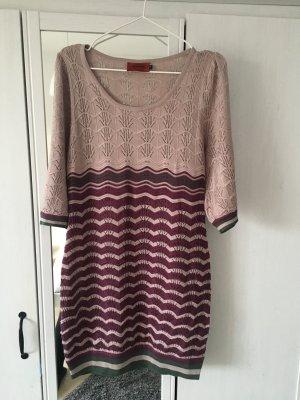 Missoni Gebreide jurk veelkleurig