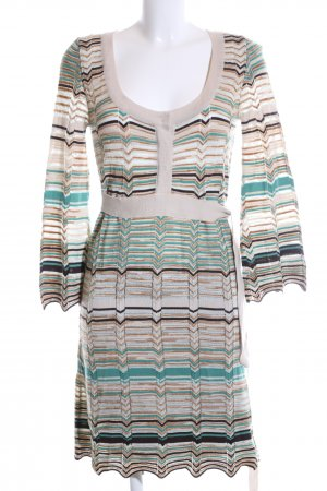 Missoni Strickkleid grafisches Muster Casual-Look