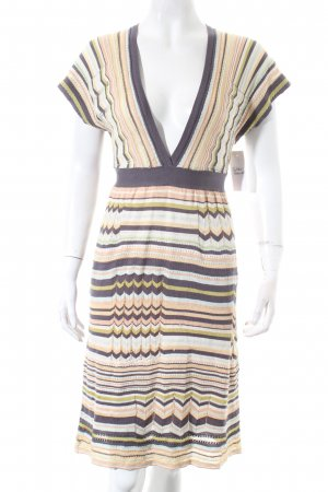 Missoni Strickkleid abstraktes Muster extravaganter Stil