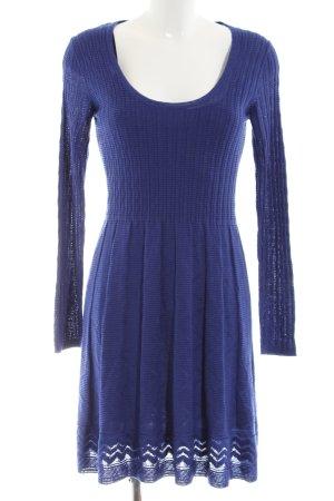 Missoni Strickkleid blau Casual-Look