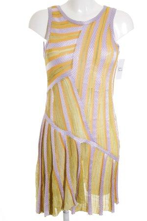 Missoni Strickkleid Streifenmuster 70ies-Stil