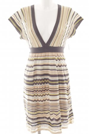 Missoni Strickkleid Streifenmuster Casual-Look