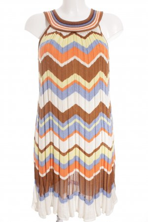 Missoni Strickkleid Zackenmuster Casual-Look
