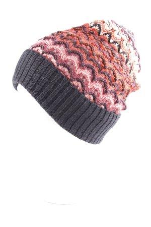 Missoni Chapeau en tricot Motif de tissage molletonné