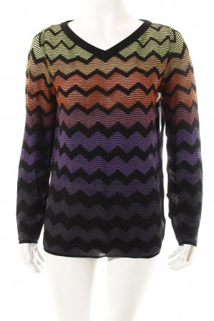 Missoni Strickpullover mehrfarbig Street-Fashion-Look