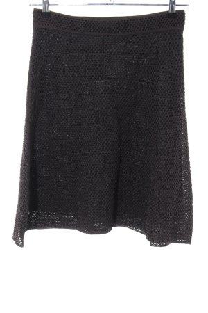 Missoni Gonna lavorata a maglia nero stile casual