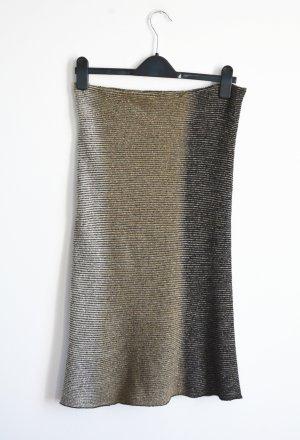 Missoni Knitted Skirt black-grey