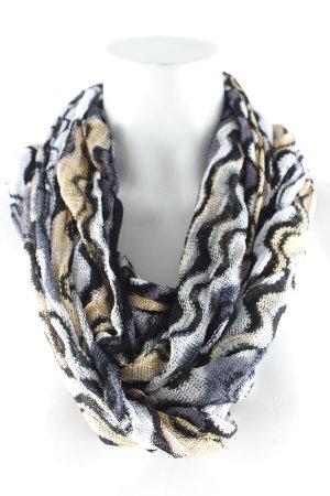Missoni Gebreide sjaal abstract patroon extravagante stijl