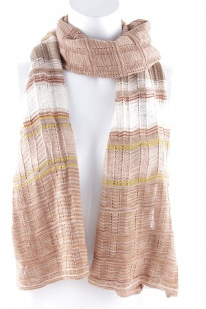 Missoni Strickschal Streifenmuster Casual-Look