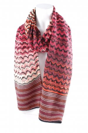 Missoni Strickschal Webmuster Kuschel-Optik