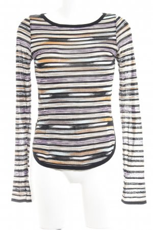 Missoni Strickshirt abstraktes Muster Casual-Look