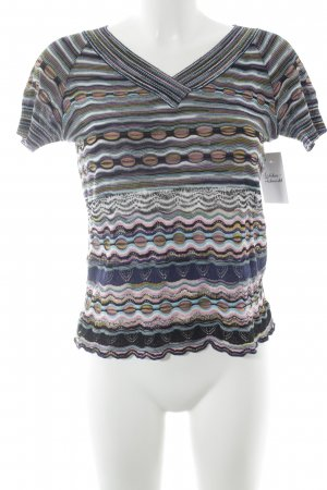 Missoni Strickshirt Streifenmuster Casual-Look