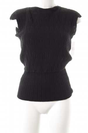 Missoni Knitted Top black casual look