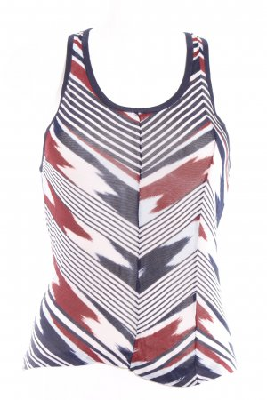 Missoni Tanktop abstraktes Muster Casual-Look